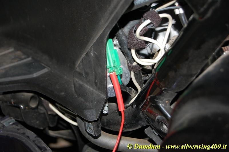 Schema Elettrico Honda Silver Wing 600 : Consenso accensione con cavalletto laterale aperto